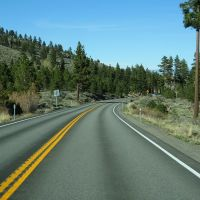 Mount Rose Highway looking east toward Reno