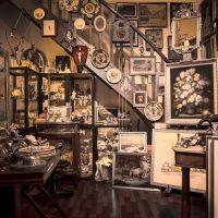 interior antique shop