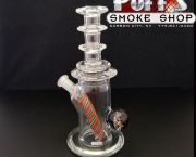 10 Mm Rig by Lennon Glass - Puff's Smoke Shop
