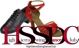High Sierra Swing Dance Club, West Coast Swing dancing