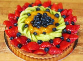 L.A. Bakery Cafe, Fruit Tart