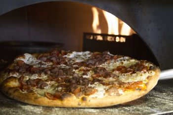 Flat Earth Pizza, THE GOODFELLA - For the Meat Lovers!
