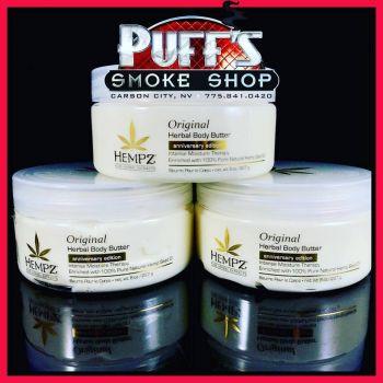 Puffs Smoke Shop Carson City, HEMPZ Herbal Body Butter