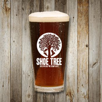 Shoe Tree Brewing Company, Pint Glass