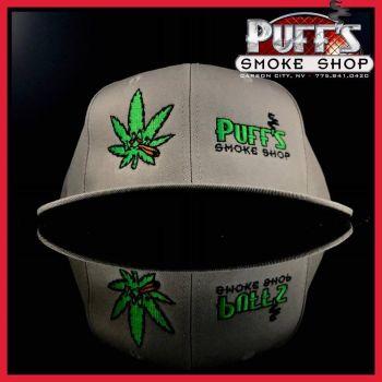 Puffs Smoke Shop Carson City, Puff's Logo Lid