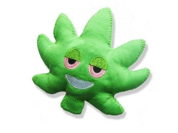Puffs Smoke Shop, Dooby's Dog Toys - Leaf