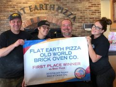 Flat Earth Pizza photo