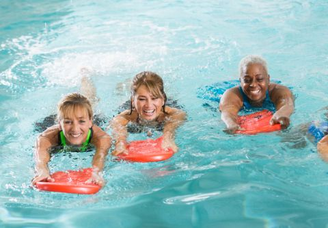 Carson Valley Swim Center, Water Aerobics