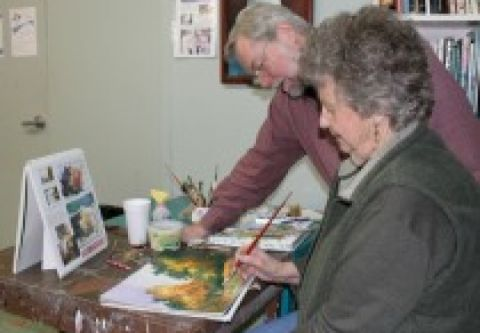 Brewery Arts Center, Open Studio: Basic Painting