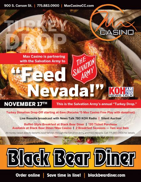 Max Casino, Turkey Drop: Feed Nevada 2017