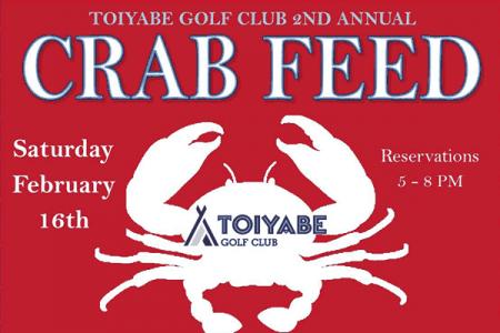 Toiyabe Golf Club, 2nd Annual Crab Feed