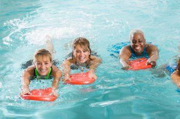 Carson Valley Swim Center, Deep Water Class