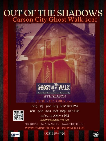 Carson City Ghost Walk, Ghost Walk With Madame Curry