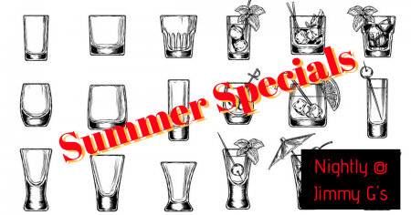 Jimmy G's Cigar Bar Carson City, Tuesday's Summer Special