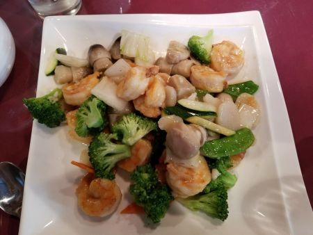 Louie's Mandarin Gourmet, Shrimp with Vegetables
