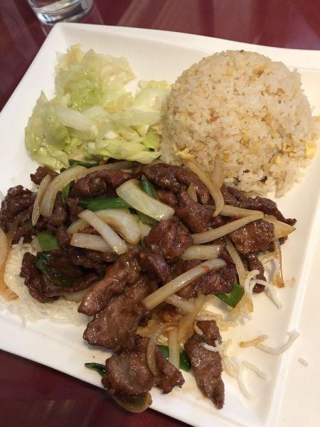 Louie's Mandarin Gourmet, Mongolian Beef/Chicken