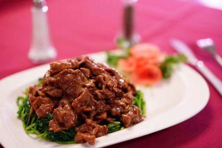 Louie's Mandarin Gourmet, Satay Beef