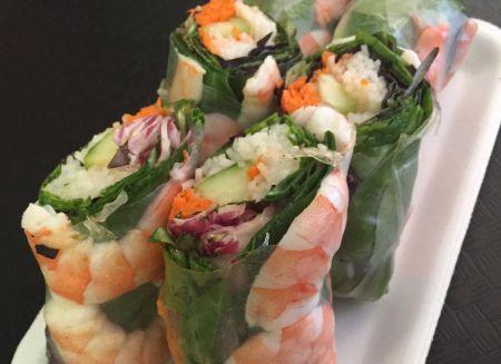 SpecialTeas Tea Shop, Shrimp Spring Rolls