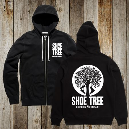 Shoe Tree Brewing Company, Zip-up Hoodie