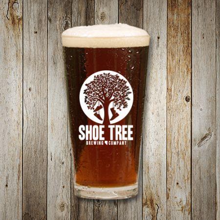 Shoe Tree Brewing Company, Pint Glass