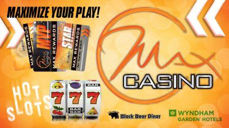 Max Casino, New & Improved Max Rewards Memberships!